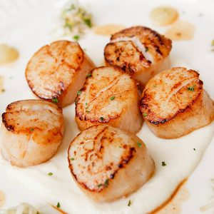 Fried or Broiled Scallops