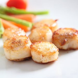 Golden Scallops